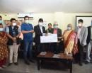 काठमाडौँ महानगरपालिकाद्वारा ३ करोड आर्थिक सहयोग हस्तान्तरण_img