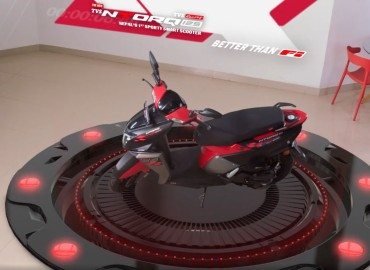 TVS Motor Company launches BS-VI TVS NTORQ 125 in Nepal